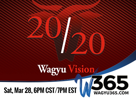2020 Vision Wagyu International Conference & Sale - 3/28/20