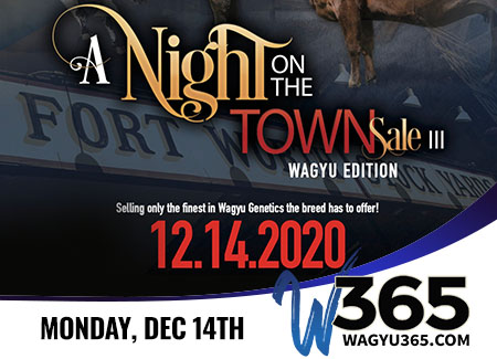 A Night on the Town Sale III, Wagyu Edition