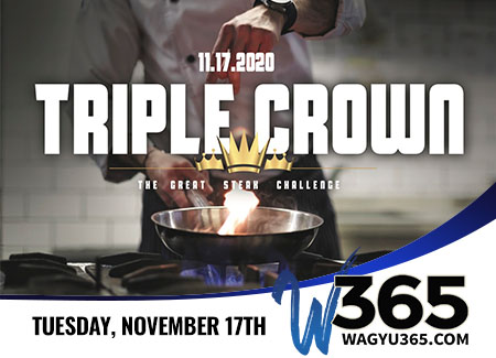 Triple Crown Steak Challenge Live Online Wagyu Auction